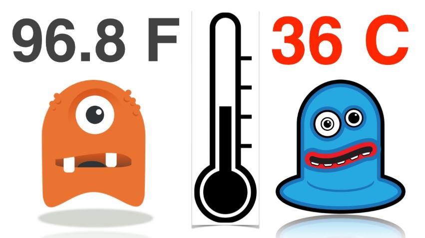 rumus konversi suhu